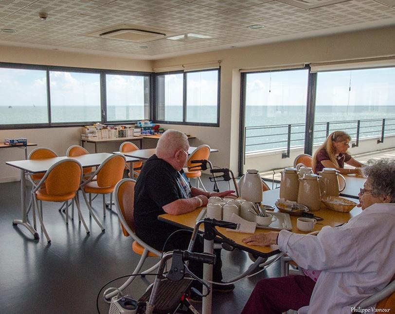 Centre Le Richelieu, La Croix Rouge- Admission ©Philippe Vamour