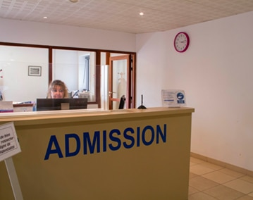 Centre Le Richelieu, La Croix Rouge, équipe médicale ©LH Bertaux